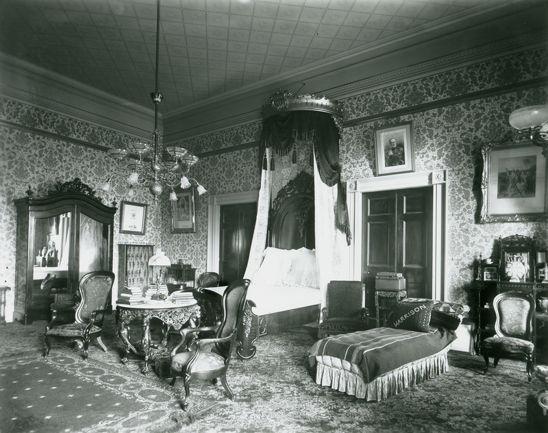 Charming Benjamin Harrison Bedroom White House