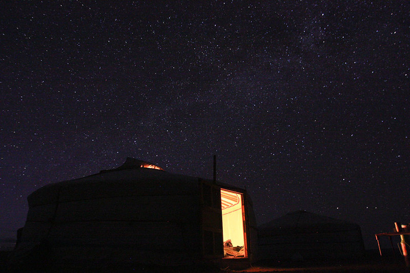 Mongolia Night Sky Stars